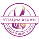 Vitalina Brown, студия живых волос