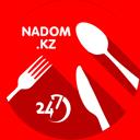 NADOM.KZ, служба доставки еды