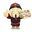 Счастливый японец, служба доставки суши и роллов