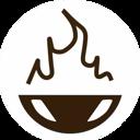 Таверна на углях, кафе